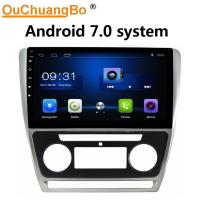 Buy cheap Ouchuangbo car radio  touch screen for Skoda Octavia 2010-2013 automatic with 1GB RAM BT SWC USB android 7.0 ststwm from wholesalers