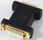 Buy cheap DVI female to DVI Female Adapter DVI Converter from wholesalers