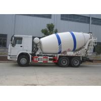 Buy cheap Sinotruk HOWO 10M3 Ready Mix Truck , 10CBM Self Loading Mixer Truck With Mixer Drum from wholesalers