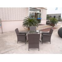 Buy cheap WF-0771 outdoor patio PE rattan Dinning sofa furniture from wholesalers