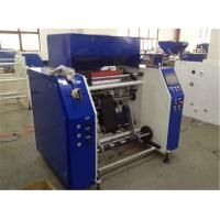 Buy cheap LDPE PVC PE Stretch Film Rewinding Machine With Automatic System PLC Controller from wholesalers