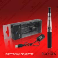 Buy cheap Ego Electronic Ego Cigarette 1300mAh CE5 Clearomizer e-cigarette Atomizer with USB Charger Cable from wholesalers