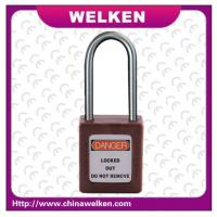 Buy cheap China WELKEN, Tianjin Bradi , CE Vertified 38mm shackle,8 colors ABS Safety Padlock from wholesalers