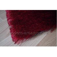 Buy cheap Viscose Mixed Red Polyester Silky Shaggy Rug, Modern Romantic Shaggy Carpet Rugs from wholesalers