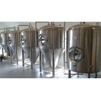 Buy cheap Anti Rust Conical Beer Fermenter Stainless Steel 4 Bars Working Pressure from wholesalers