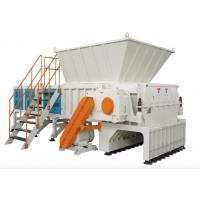 Buy cheap High Capacity Plastic Waste Recycling Machine Single Axle Shaft Shredder 380V from wholesalers