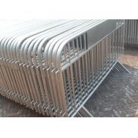 Buy cheap Galvanized Crowd Control Panel 25MM OD Out Frame Pipe With Custom Logo product