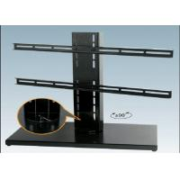 Buy cheap Black Expansion LCD Flat Screen TV Floor Stand Smart Degined 600 X 330 mm from wholesalers