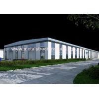 Buy cheap Painted Light Steel Frame Building , Prefab Steel Warehouse Construction from wholesalers