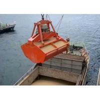 Buy cheap Marine Radio Remote Control Grab , Red Color Hydraulic Clamshell Grab from wholesalers
