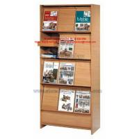 Buy cheap Cheap Home office furniture or Library Bookcase rack made by MDF in KD structure easy shipping from wholesalers