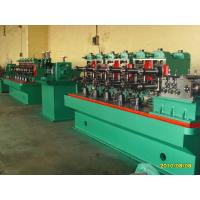 Buy cheap PLC Control System Steel Pipe Making Machine With 45# Forged Steel from wholesalers