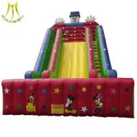 Buy cheap Hansel amusement park play ground outdoor inflatable water slide for water park from wholesalers