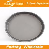 Buy cheap Factory direct wholesale Teflon Platinum Commercial Grade Round Baking Pan-Non stick pizza pan for bakeware from wholesalers