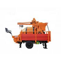 Buy cheap Draggable Self Loading Concrete Mixer Alloy Eye Plate With Pump TWTG30 T8 from wholesalers
