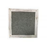 Buy cheap White Vintage Felt Letter Board 10 Inch Rustic Design With Changeable Letters from wholesalers