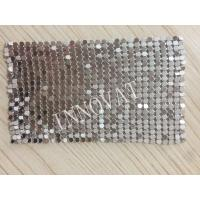 Buy cheap Fashion design metal sequin cloth mesh room divider curtain from wholesalers
