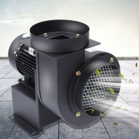 Buy cheap iron material smoking blower centrifugal exhaust fan fume extractor from wholesalers