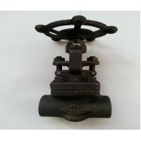 Buy cheap A105 API Forged Steel Gate Valve With SW Threaded Flange End ,150LB - 1500LB product