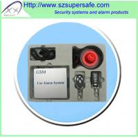 Buy cheap GSM Security Car Alarm System from wholesalers