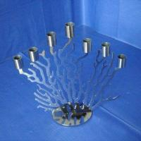 Buy cheap Stainless Candle Holder, Candle Stand, Available in Different Designs from wholesalers