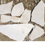 Buy cheap white irregular shaped quartzite stone from wholesalers
