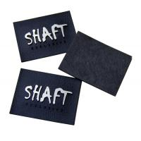 Buy cheap Garment Embossed Leather Patches Healthy In Gold / Silver / Gun from wholesalers