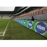 Buy cheap High Brightness Football Stadium Led Display P10 Panel , Scrolling Advertising Boards from wholesalers