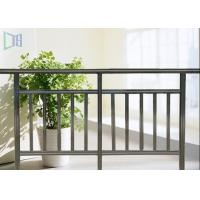 Buy cheap Interior Economic Aluminium Outdoor Stair Handrail Rectangle Tube Balustrade from wholesalers