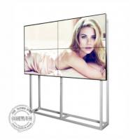 China Full HD LCD Digital Signage Video Wall 55 Inch Ultra Thin Bezel With Software on sale