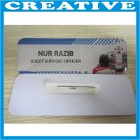 Buy cheap plastic name badge product