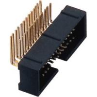 Buy cheap Data Communication 10 ~ 100P Pcb Header Connector 1.27mm Pitch from wholesalers