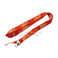 Buy cheap Fibre Silk Screen Cellphone Lanyard Made In China from wholesalers