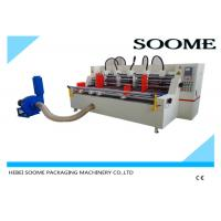 Buy cheap Automatic Feeder Paper Slitter Scorer Cutting Corrugated Machine 3200 Mm 380 V 440 V from wholesalers