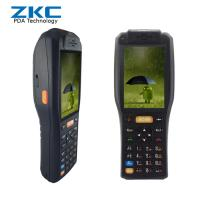 Buy cheap Handheld android pda data terminal with thermal printer , rfid smart card reader , laser barcode scanner from wholesalers
