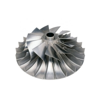 Buy cheap 5 Axis Al6063 Aluminum CNC Machining Parts , Centrifugal Pump Impeller from wholesalers