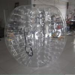 Buy cheap Transparent Inflatable Bumper Ball Body Bumper Ball 1.0 mm PVC 1.2 / 1.5 m Diameter from wholesalers