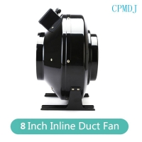 Buy cheap 8 Inch Ducted Fan Motor / Ventilation Exhaust Fan 200mm For Smoking Room Inline Duct Fan Vent Blower Ventilation Fan from wholesalers