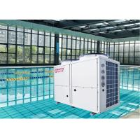 China Integral 10P Top Blow Heat Pump EVI Air Source High COP R410A 36.8KW on sale
