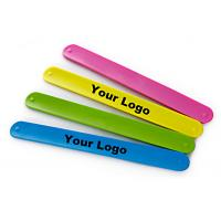 Buy cheap Fashion Design Silicone Slap Bracelets , Slap Wrist Bracelet Easy To Clean from wholesalers