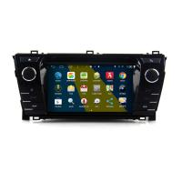 Buy cheap 7 2DIN HD android car dvd android 4.4.4 HD 1024*600 car DVD GPS for Toyota Corolla 2014 with WiFi Mirror link from wholesalers