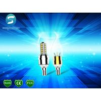 Buy cheap 75Ra E12 LED Candle Light 3W , Home Decorative Candle Shaped Light Bulbs from wholesalers