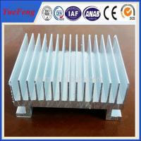 Buy cheap Custom Aluminium Cooler Extrusions, aluminum profiles used in radiator product