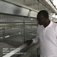 Buy cheap Chicken cages and battery cages for layers and broilers for chicken poultry farm from wholesalers