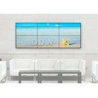 Buy cheap 1x3 Lcd Control Room Video Wall 55 Inch Thin Bezel TV High Contrast RS232 Control product