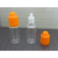Buy cheap e liquid 10ml bottles small pet bottle&childproof cap pet plastic bottle manufacturer from wholesalers