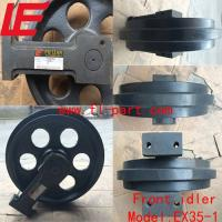 Buy cheap Mini  front idler EX35-1 Hitachi Small front idler EX35-1 Mirco front idler EX35-1 Hitachi mini idler wheel EX35-1 from wholesalers