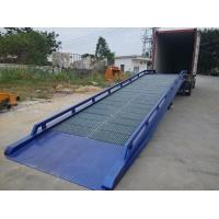 Buy cheap Galvanized Steel Containers / Mobile Yard Ramp Manual Operate Manner from wholesalers