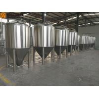 Buy cheap 500L Stainless Steel Fermentation Tank Small Conical Fermenter 60 Degree Cone from wholesalers