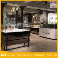 Buy cheap Custom made modern used jewellery shop counter design furniture and jewellery showroom counter design from wholesalers
